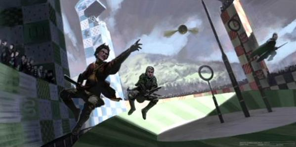 File:Harry Potter and Draco Malfoy catching the Snitch (Concept Artwork for the HP2 movie).JPG