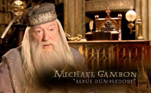 File:Michael Gambon (Albus Dumbledore) HP6 screenshot.JPG
