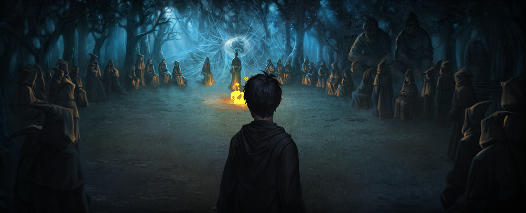 Image Pottermore Death Eaters Forbidden Forest Png