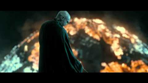 Harry Potter and the Deathly Hallows - Part 2 (Destroying the Shield Scene - HD)