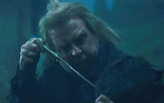 File:Wormtail holding Voldemort's wand.JPG