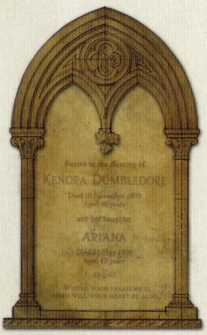 File:Kendra & Ariana Dumbledore Headstone - HPLE-G.png