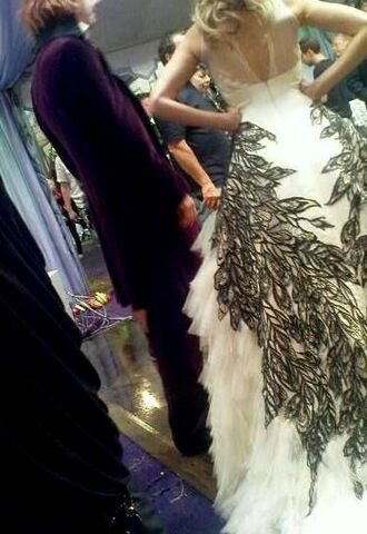 File:Bill and Fleur (The Bride and Groom's attire for their wedding - DH film).jpg