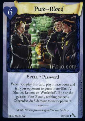 File:Pure-Blood (Harry Potter Trading Card).jpg