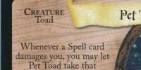 Pet Toad (Trading Card)