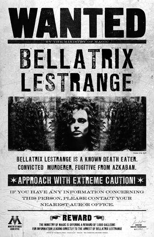 Dosya:Bellatrix Lestrange Wanted.jpg