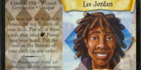 Lee Jordan (Trading Card)