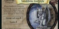 Sandstone Gargoyle