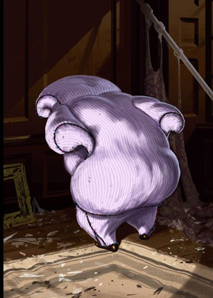 File:Horace Slughorn disguised as a Armchair (Concept Artwork).jpg