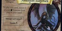 Norwegian Ridgeback (Trading Card)