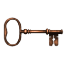 Rubeus Hagrid's cabin's key