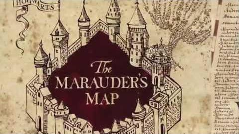 Harry Potter Wizard's Collection - Map of Hogwarts