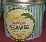 Nautious jumping snakes