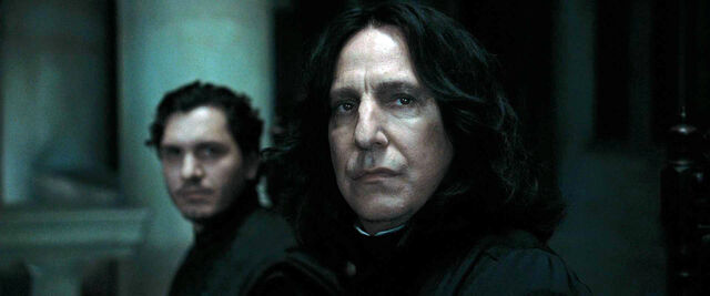 File:DH1 Severus Snape with another Death Eater.jpg