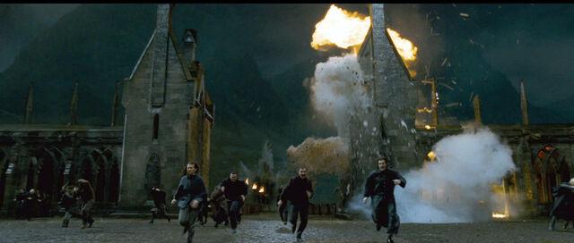File:DH2 Death Eaters storm Hogwarts.jpg