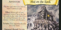 Hut on the Rock (Trading Card)