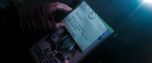 File:DH1 Rita Skeeter's note to Bathilda Bagshot.jpg