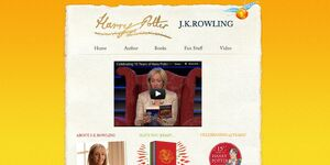 Bloomsbury Harry Potter website