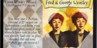 Fred & George Weasley (Trading Card)