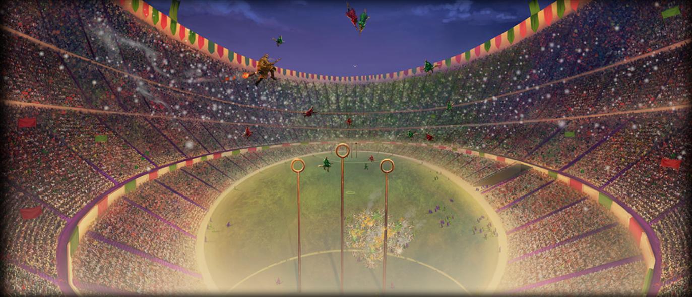 Stade de quidditch wiki harry potter fandom powered by - Harry potter et la coupe du feu ...