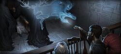 Potter as Runcorn Patronus Pottermore