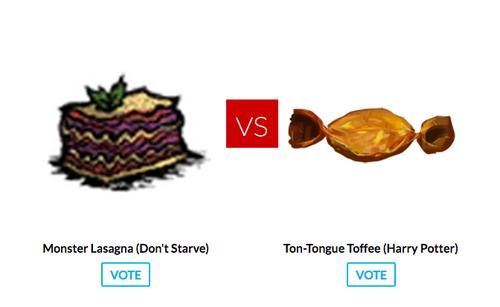 Don't starve vs. harry potter