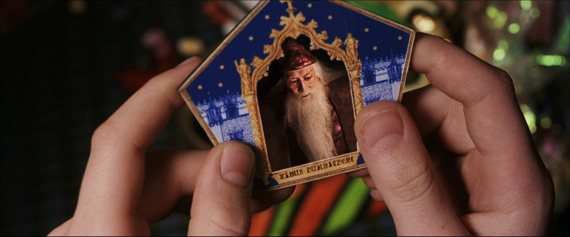 Image result for chocolate frog card dumbledore