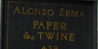 Alonzo Zema Paper & Twine