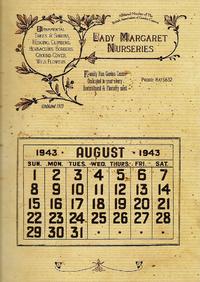 1943RiddleHouseCalendar