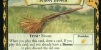 School Broom (Trading Card)