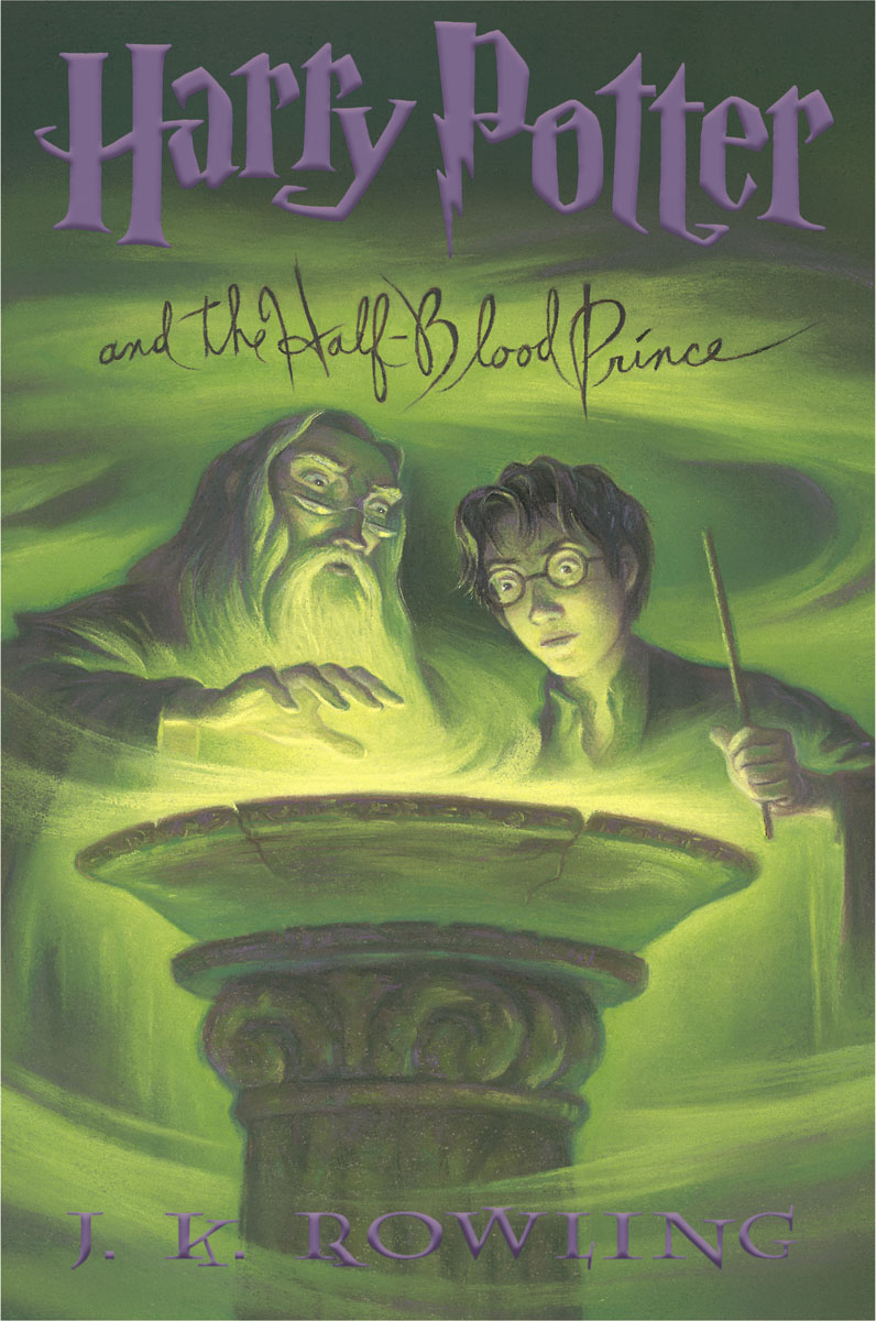Harry potter HBP Scholastic edition