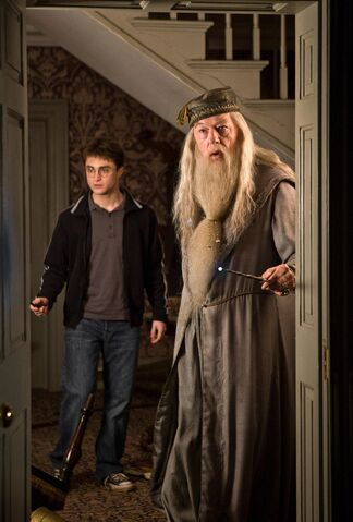 File:Prof Dumbledore and Harry Potter in 1996.jpg
