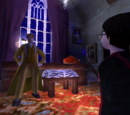 Harry Potter and Gilderoy Lockhart's private lesson