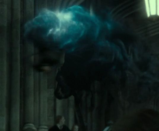 File:The Death Eater being stunned by Harry..jpg