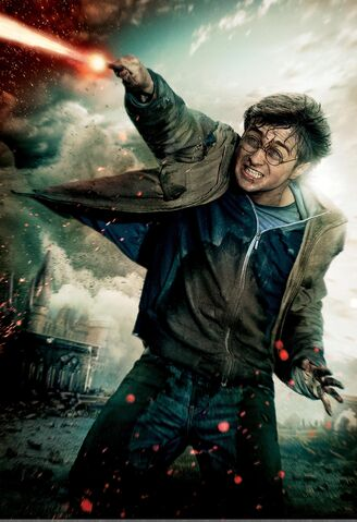 File:TDHp2 Textless Poster Harry action.jpg