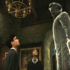 Ник разговаривает с Гарри и Роном