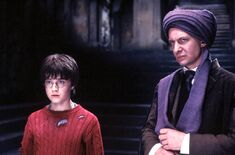 QuirinusQuirrell WB F1 QuirrellAndHarry Still 080615 Land