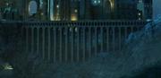 Viaduct Deathly Hallows Night
