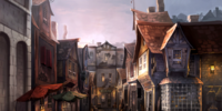 Diagon Alley South Side