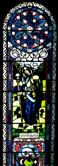 CryingStainedGlassWindow