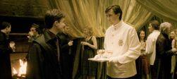 Neville waiter at the Slug Club Party