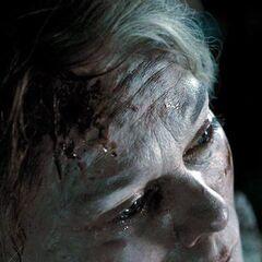 Чарити Бербидж за несколько минут до смерти