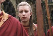 Arielle in her Quidditch uniform