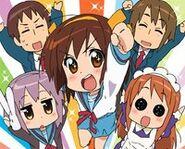 The Melancholy of Haruhi-chan Suzumiya (ONA)