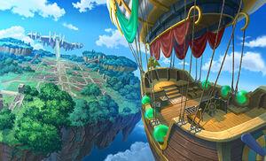 Rune Factory Tides of Destiny Main Square