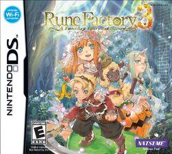 Rune Factory 3 Boxart
