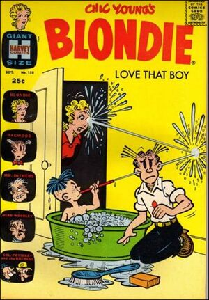 Blondie Comics Vol 1 158