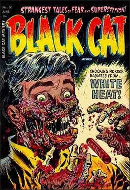 Black Cat Mystery Comics Vol 1 50