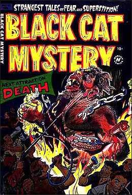 Black Cat Mystery Comics Vol 1 42