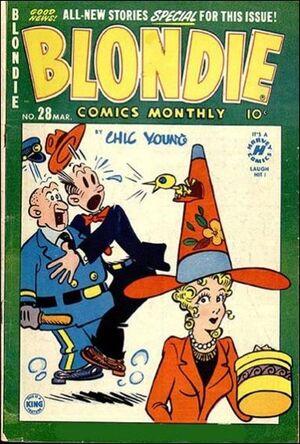 Blondie Comics Vol 1 28